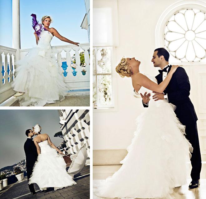 sonat ve emmienin hikayesi - Düğün kolaj