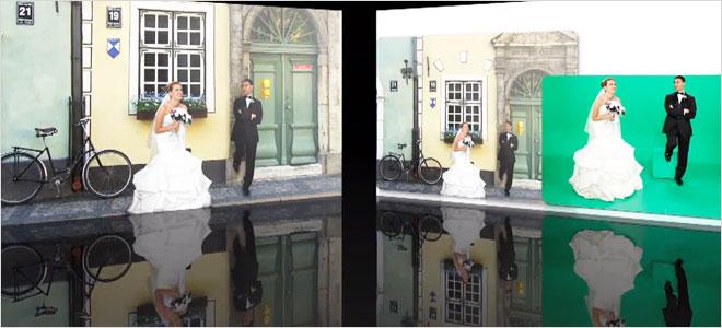 Greenbox stüdyoda dilediğiniz gibi düğün fotoğrafı pozları