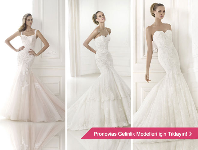 2015 Pronovias gelinlik modelleri