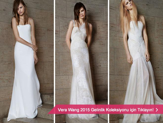 2015 Vera Wang gelinlik modelleri