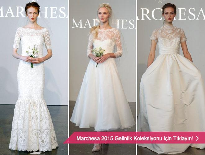 2015 Marchesa gelinlik modelleri