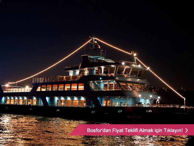 bosfor - Teknede düğün organizasyonu