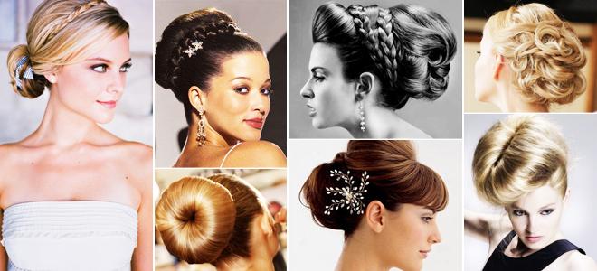 topuz - 2013 yılının gelin saçı modası