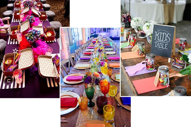 düğün dekorasyonu için 5 parlak fikir