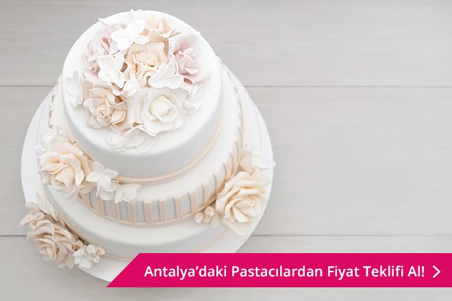 Antalya düğün pastası