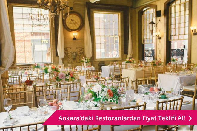 Ankara restoran düğünü
