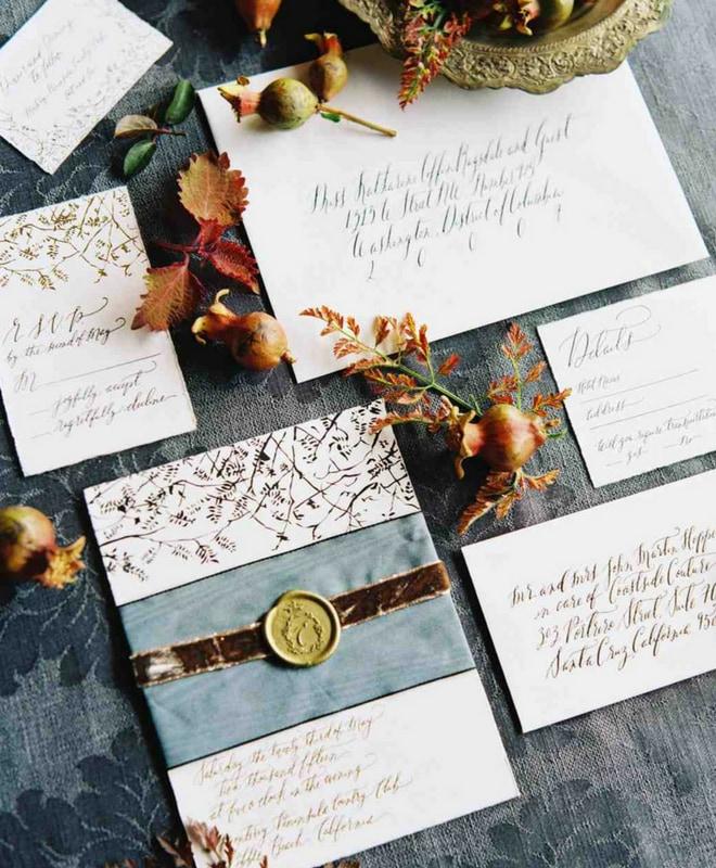 temalı düğün davetiyeleri