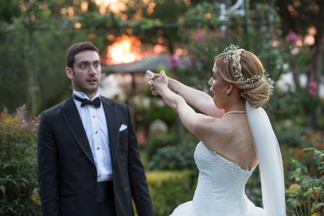 2 - sinema temalı bir düğün ve filmin en güzel sahnesinde: yonca ve hakan