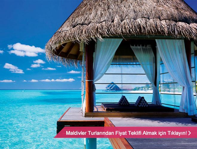 Balayı için Maldivler kusursuz bir seçenek