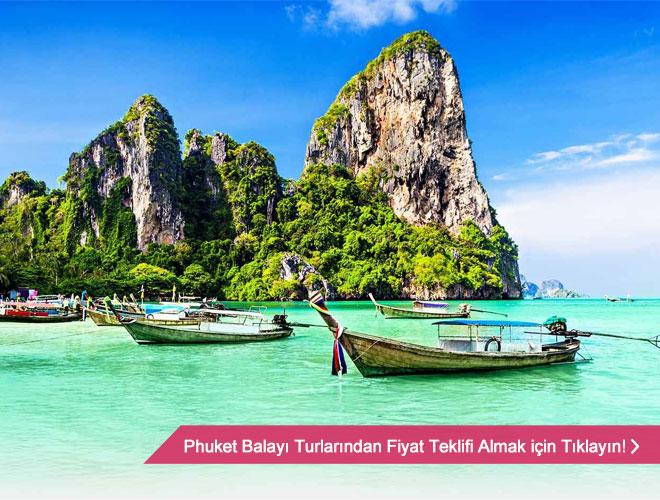 phuket - Hem okyanus hem de kültür öğeleri taşıyan bir balayı
