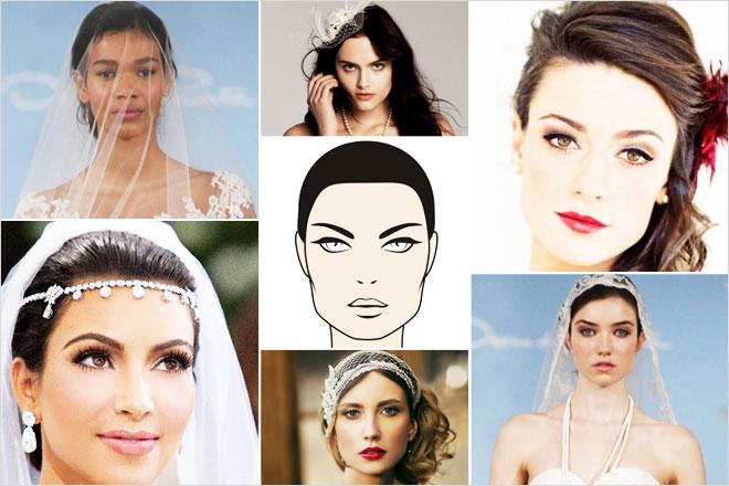 kare - yüz tipine göre duvak modelleri