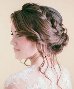 Saç Renginize Göre Gelin Saçı Modelleri