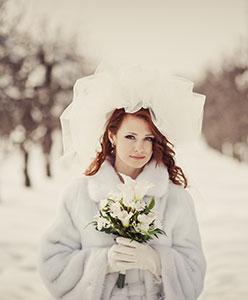 Kış Düğünü İçin Gelin Aksesuarları