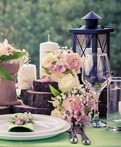 Düğün Masası Süslemesi Nasıl Yapılır?
