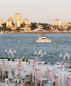 İstanbul'un Deniz Manzaralı Düğün Mekanları