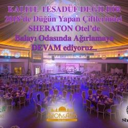Düğün Gecenizde Sheraton'da Misafirimiz Olun!