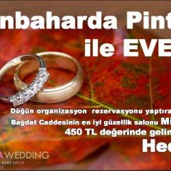 Düğün.com Çiftlerine Özel Gelin Bakımı Hediye!