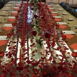Gelin Ve Damat İçin Hazırlanmış Özel Vip Oda da Canlı Keman Eşliğinde Akşam Yemeği Hediye!