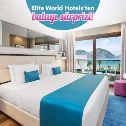 Elite World Marmaris Hotel'de İki Gece Balayı Hediye!