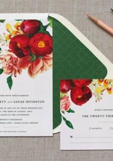 Floral Davetiye Seçenekleri