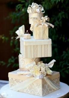 İlginç Düğün Pastası Modelleri