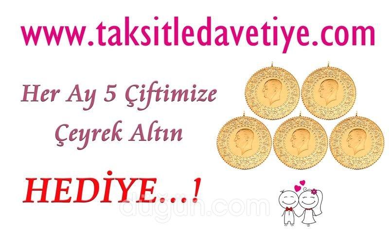Taksitle Davetiye