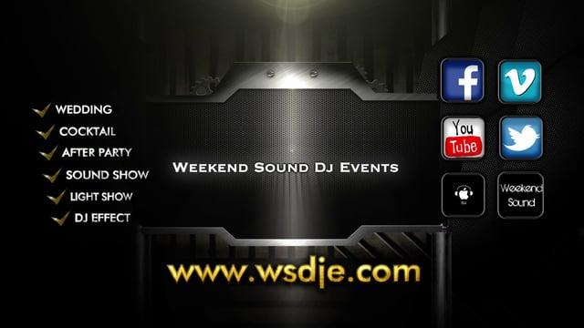 Weekend Sound Dj Events