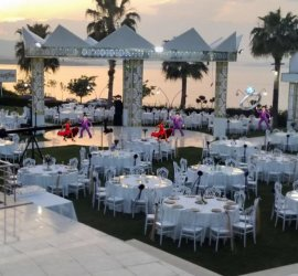 White Gala Wedding Event's