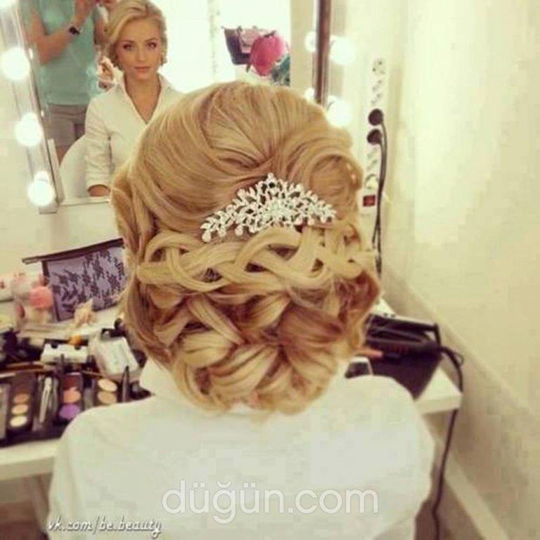 Прическа свадебная собранные волосы