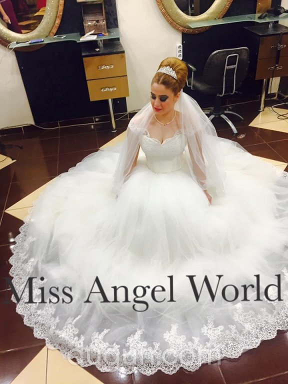 Miss Angel World Gelinlik