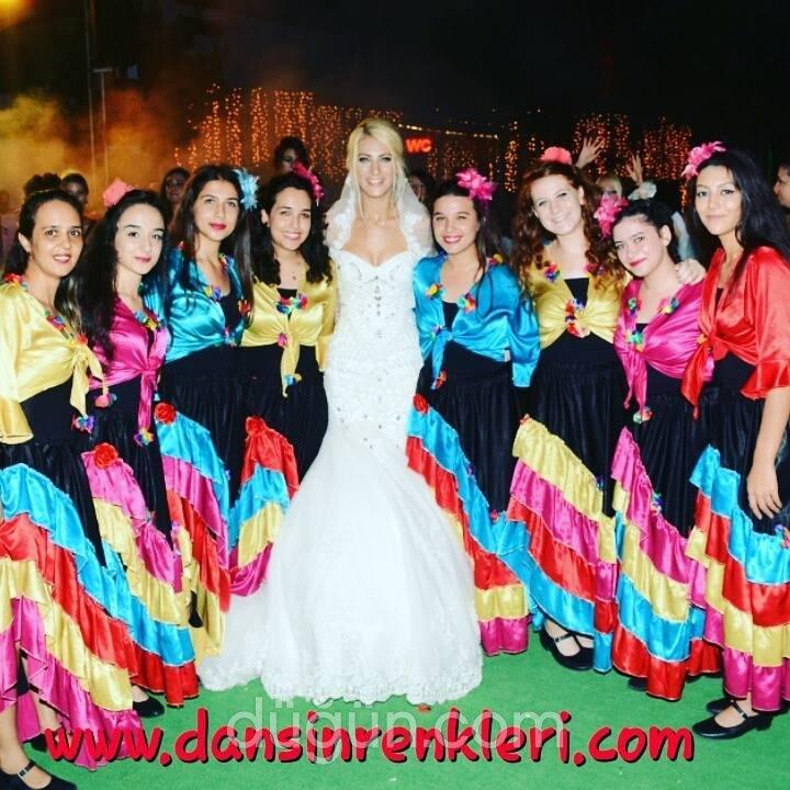 Dansın Renkleri Kına Organizasyon