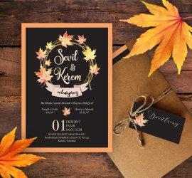 Düğün.com Çiftlerine Kraft Zarflı Davetiye Modellerinde Ve Taş Magnetlerde %15 İndirim!