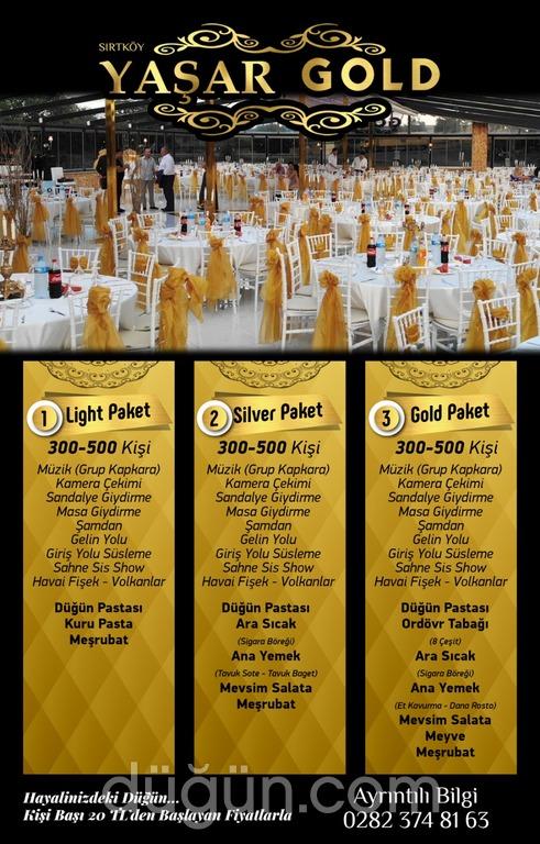 Yaşar Gold Düğün Salonu
