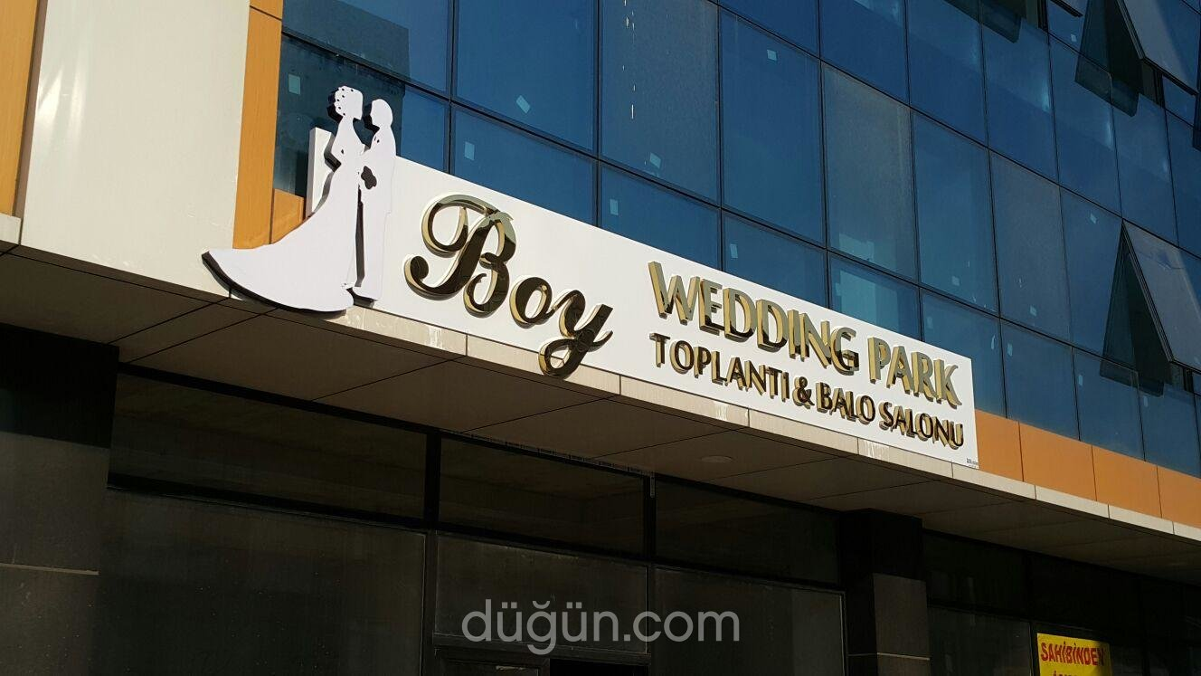 Boy Wedding Park