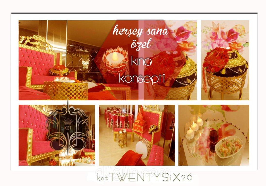 TwentySix26 Davet Saloon