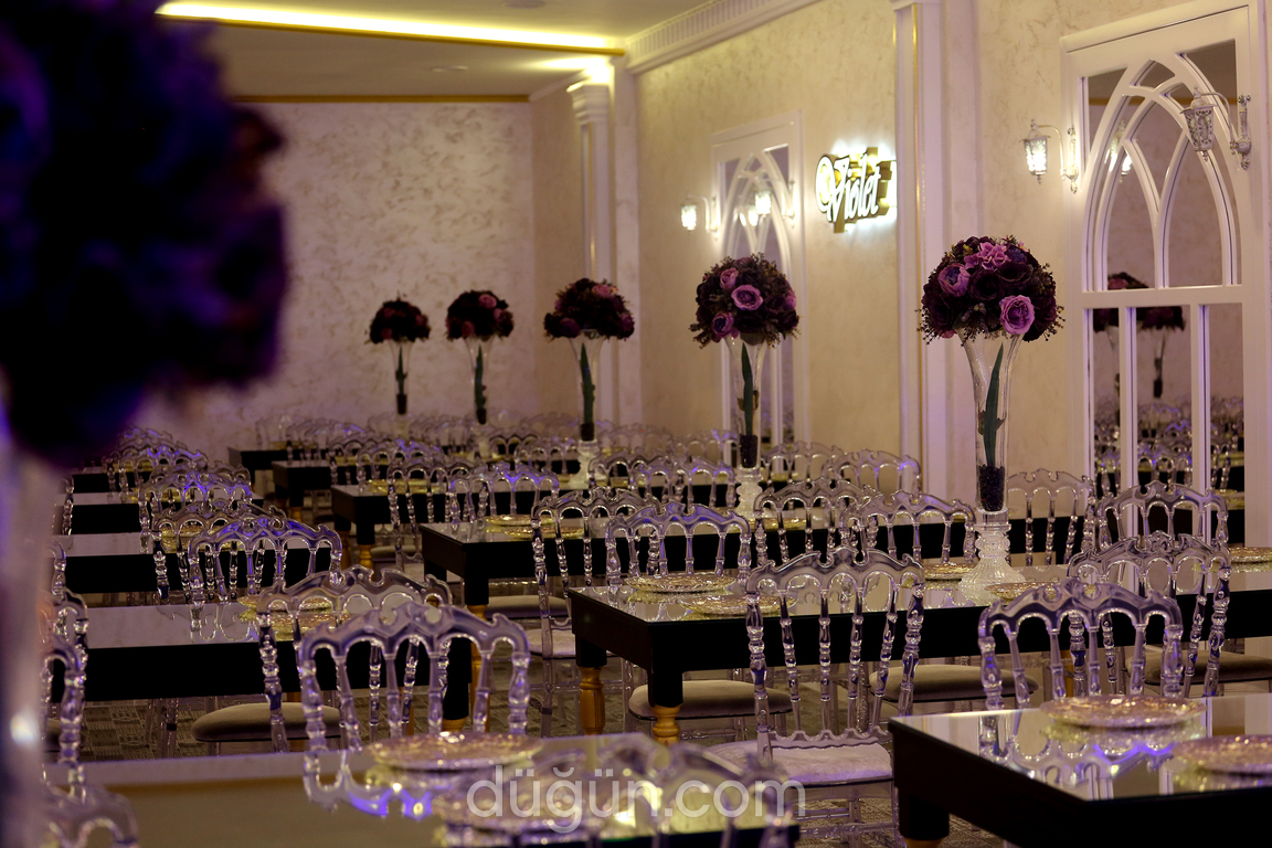 Violet Balo Davet Ala Salon