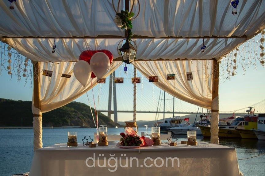 Poyraz Sahil Restaurant Evlilik Teklifi