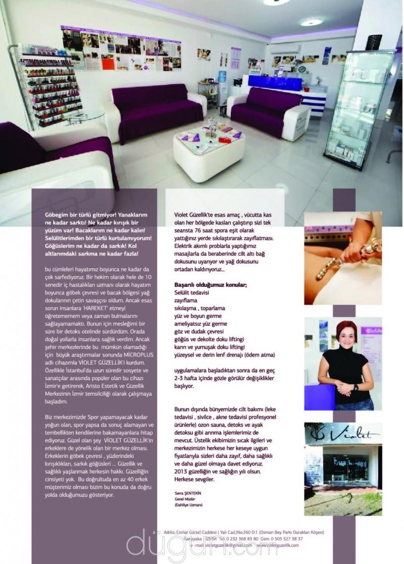 Violet Güzellik & Zayıflama & Detoks Merkezi
