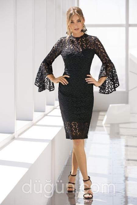 aabd33a8b2759 En Güzel Dantel Abiye Elbise Modelleri-Nişan Elbiseleri