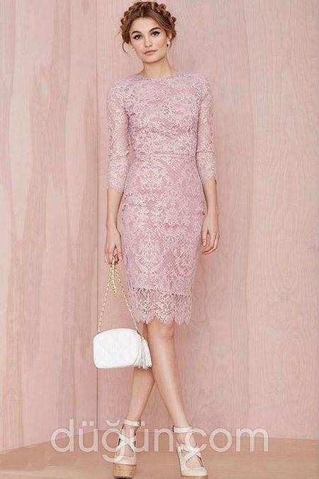 2a860aa83fc10 En Güzel Dantel Abiye Elbise Modelleri-Nişan Elbiseleri