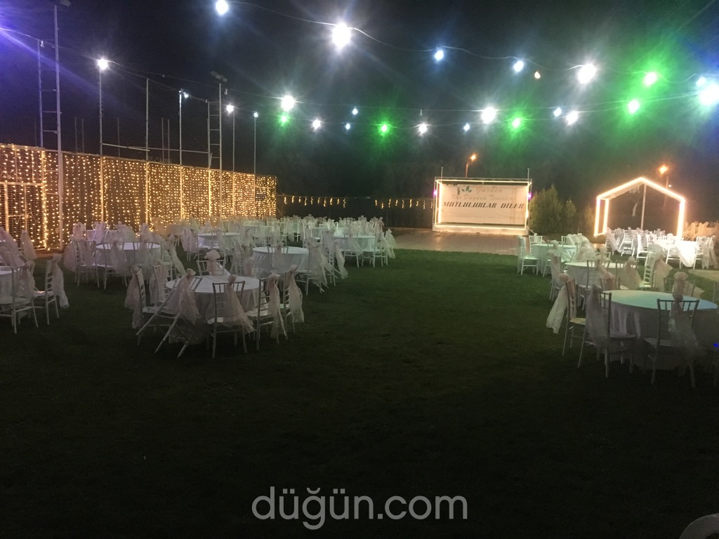 Garden Kır Düğünü