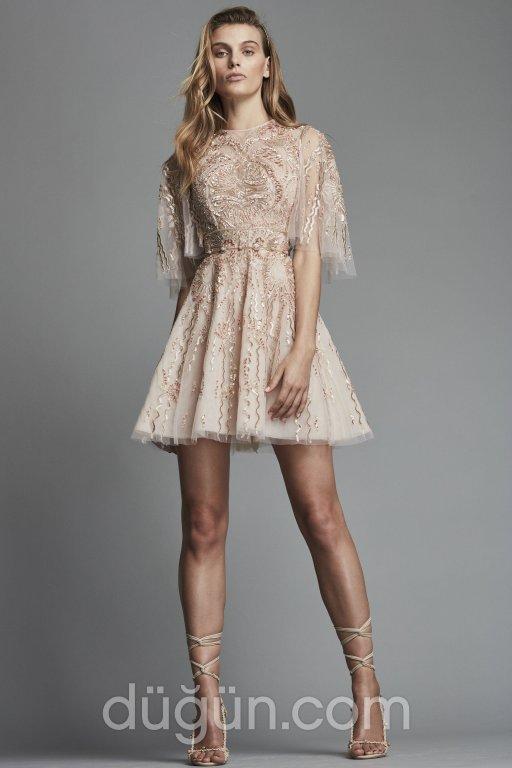 0d74b638ba5aa Kısa Nişan Elbise Modelleri | Kısa Abiyeler