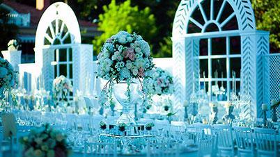 Üç Kalemde Düğün Organizasyonu