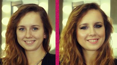 Yuvarlak Yüz Şekline Uygun Gelin Makyajı