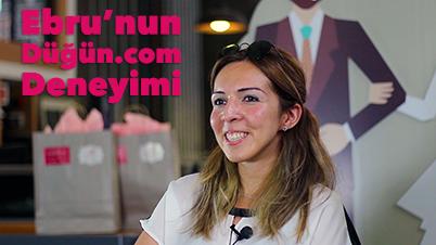 Düğün.com'u Kullanarak Evlenen Ebru Tecrübelerini Paylaşıyor!