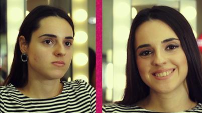 Kare Yüz Şekline Uygun Gelin Makyajı