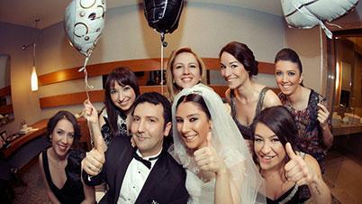 Bir Düğün Günü Hikayesi Çekimi